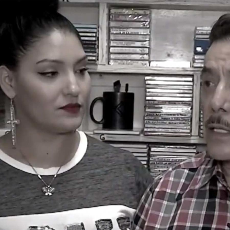 Lilia Zetina y Don Pedro Rivera