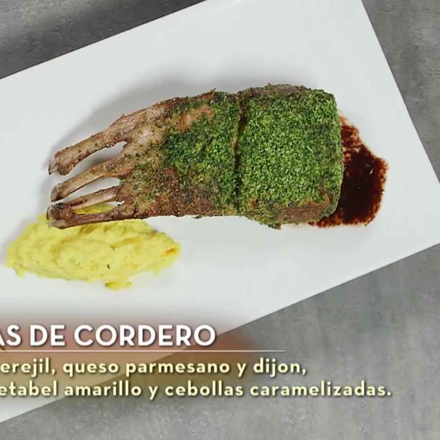 John Pardo cocinó costillas de cordero como plato fuerte en la final de MasterChef Latino 2