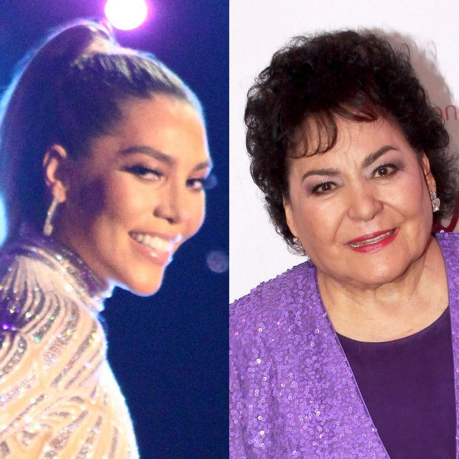 Carmen Salinas y Frida Sofía