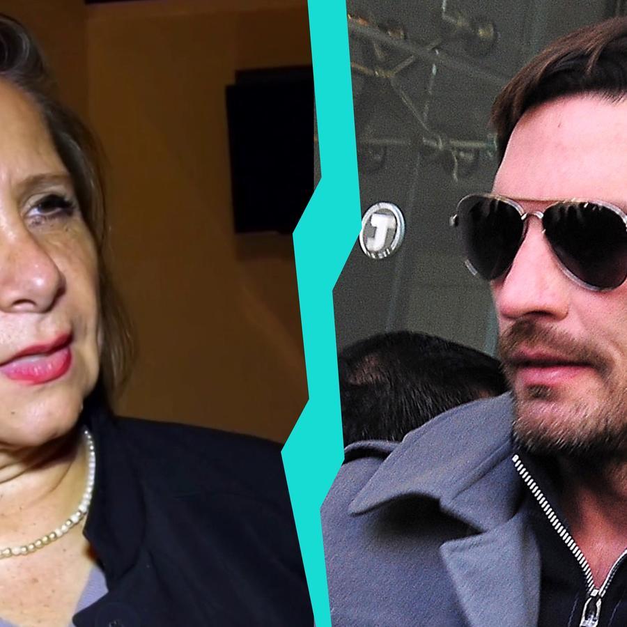Rosalba Ortiz y Julián Gil