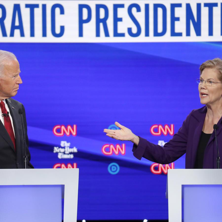 Joe Biden,Elizabeth Warren