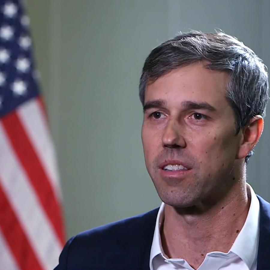 El precandidato Beto O'Rourke.