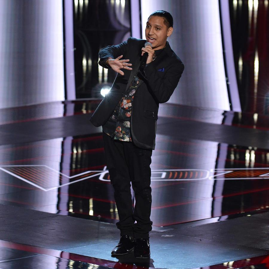 Adrián Torres en las audiciones a ciegas de La Voz US 2