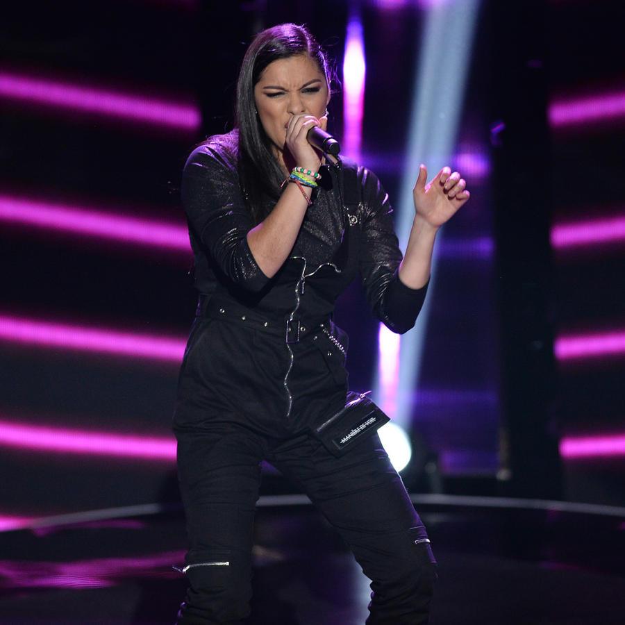 Maria Cristina Bravo en las audiciones a ciegas de La Voz US 2