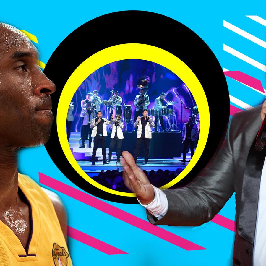 Kobe Bryant y Banda MS