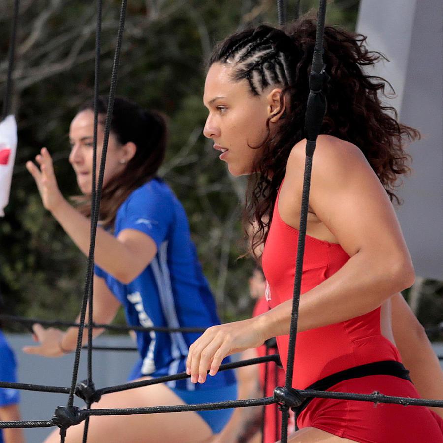 Alejandra en duelo con Michelle