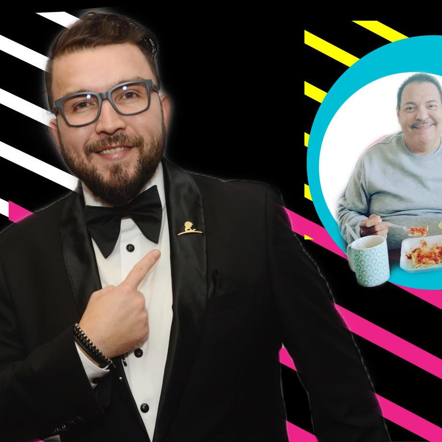 Poncho Lizárraga y Julio Preciado
