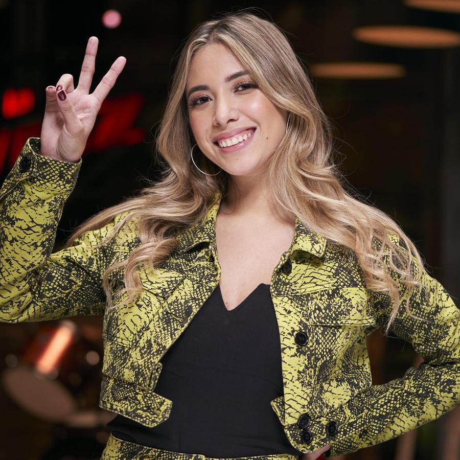 Michelle Rivera, La Voz US 2, Team Fonsi