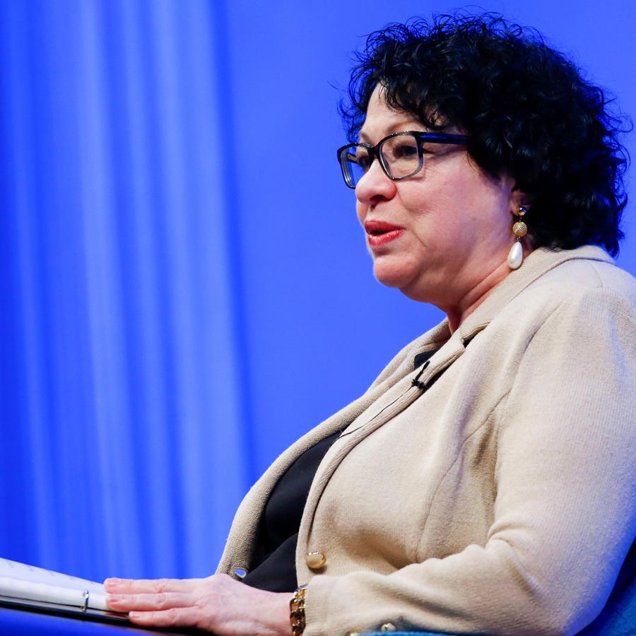 Jueza del Tribunal Supremo Sonia Sotomayor en una imagen de archivo.