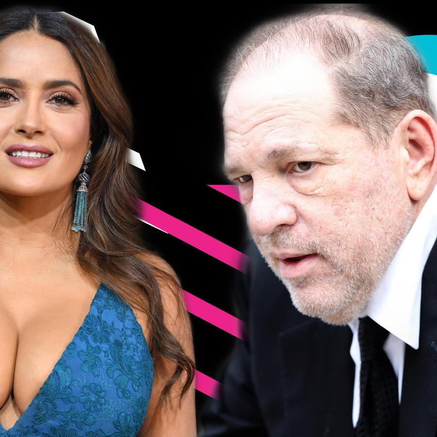 Salma Hayek y Harvey Weinstein