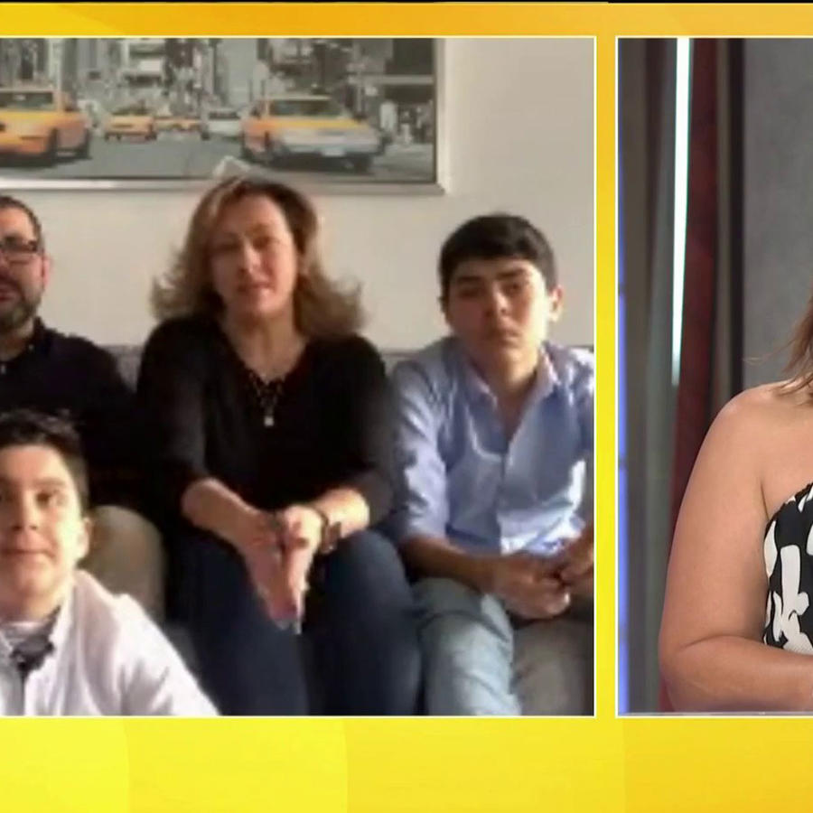 Entrevista a familia colombiana en Londres