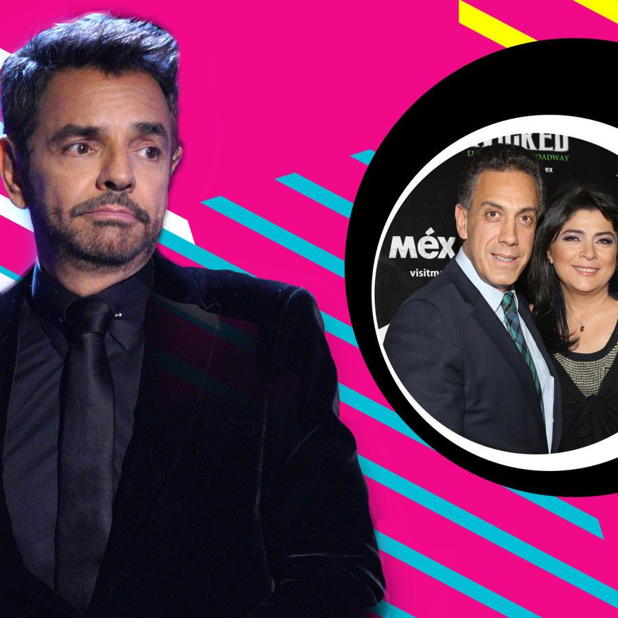 Eugenio Derbez, Victoria Ruffo y Omar Fayad