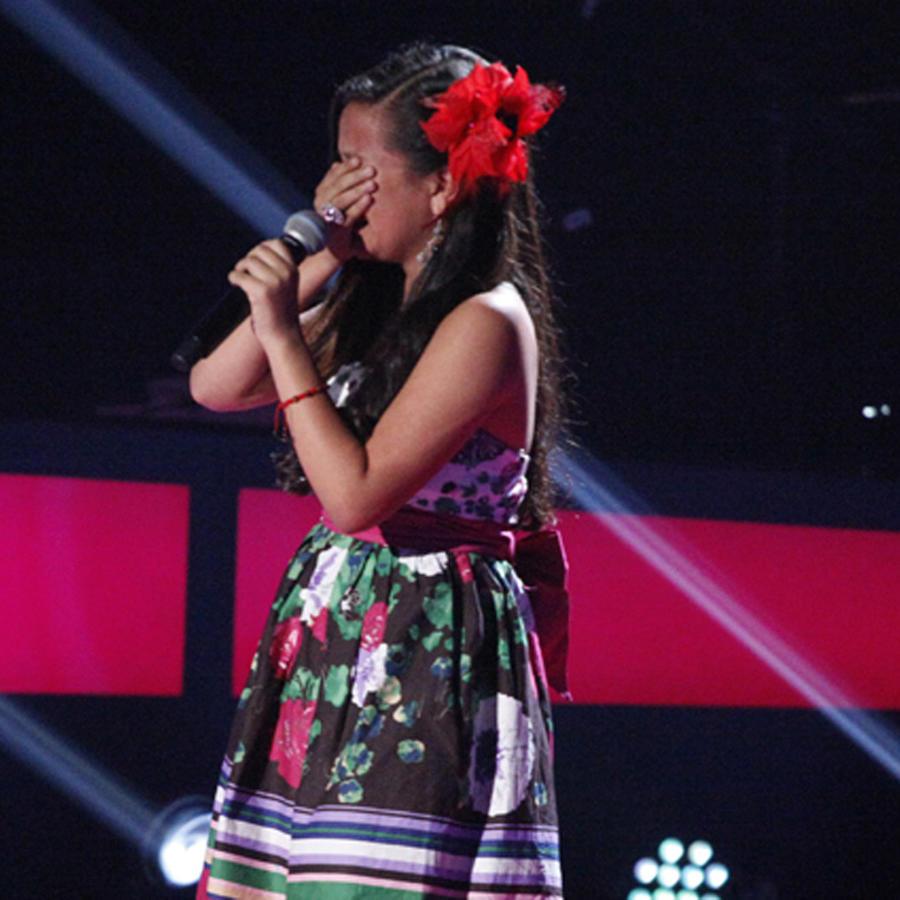 Lourlily en las audiciones a ciegas de La Voz Kids