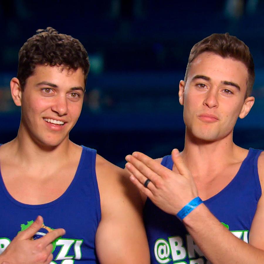 Alexio y Lucas Gomes