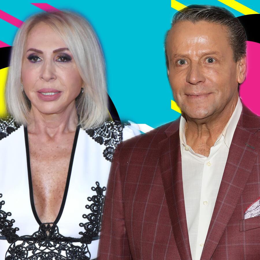 Laura Bozzo y Alfredo Adame