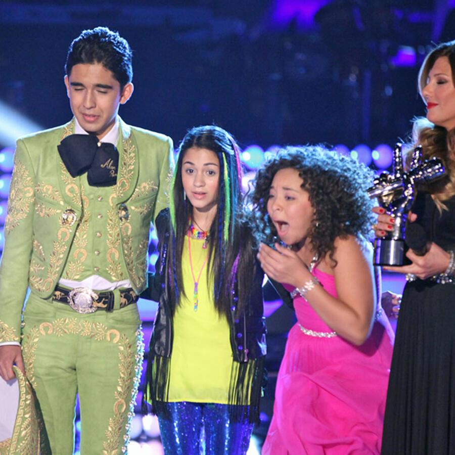 Paola gana La Voz Kids