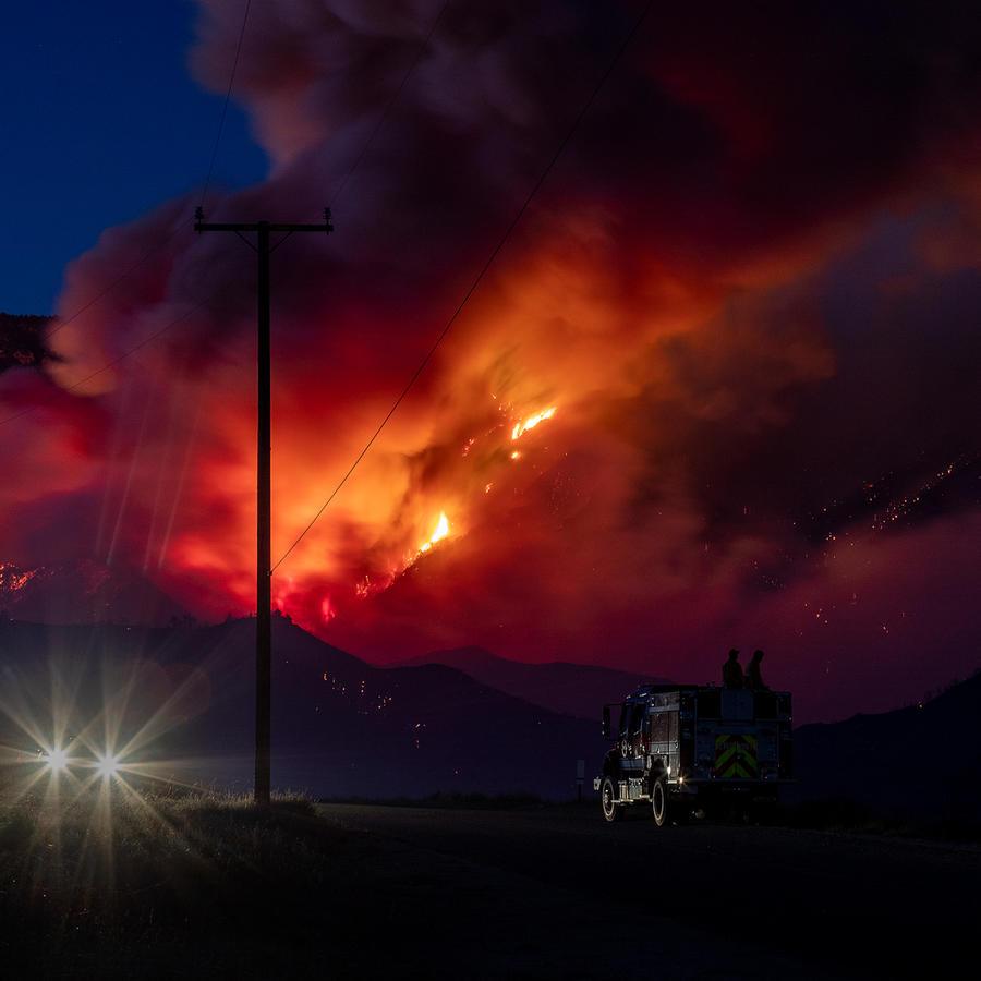 Apple Fire - California