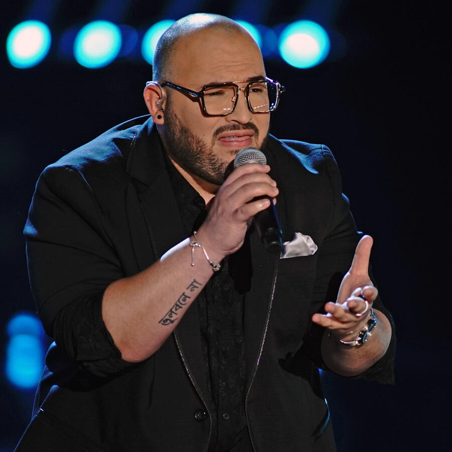 Jose Class en la semifinal de La Voz US 2