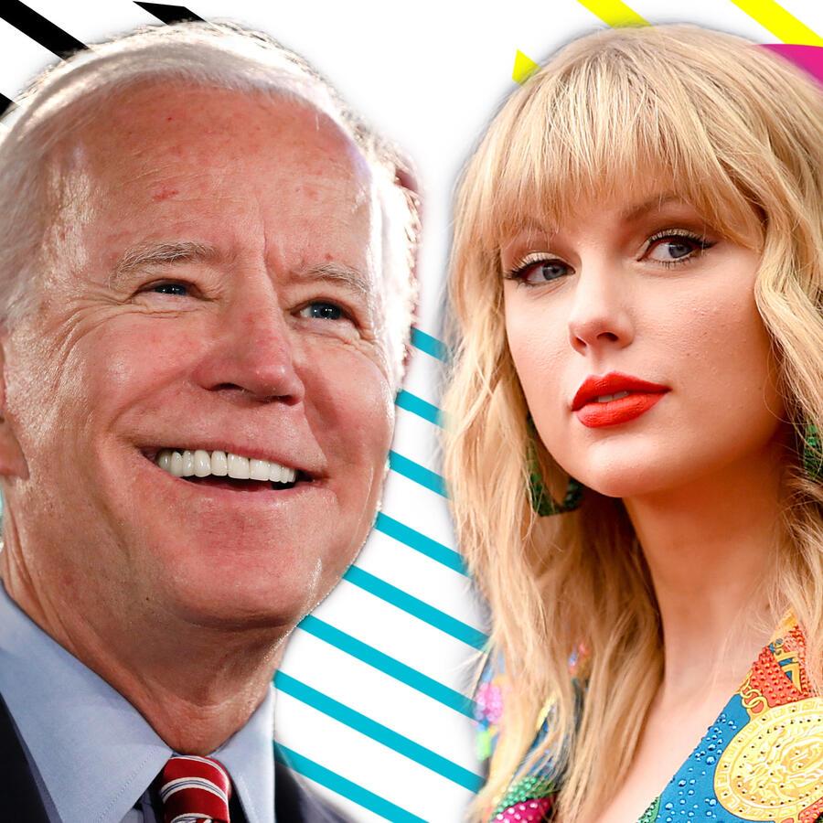 Joe Biden y Taylor Swift