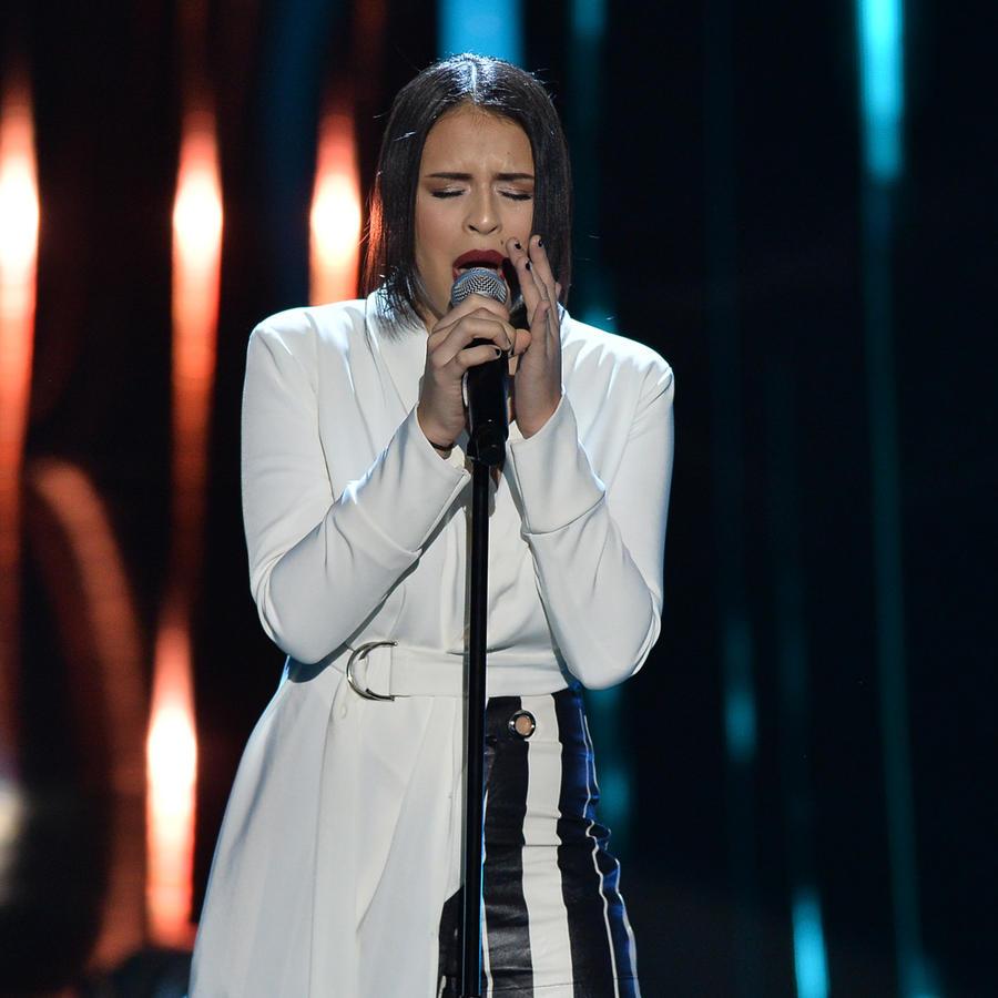 Jazmin Rosas en las audiciones a ciegas de La Voz US 2