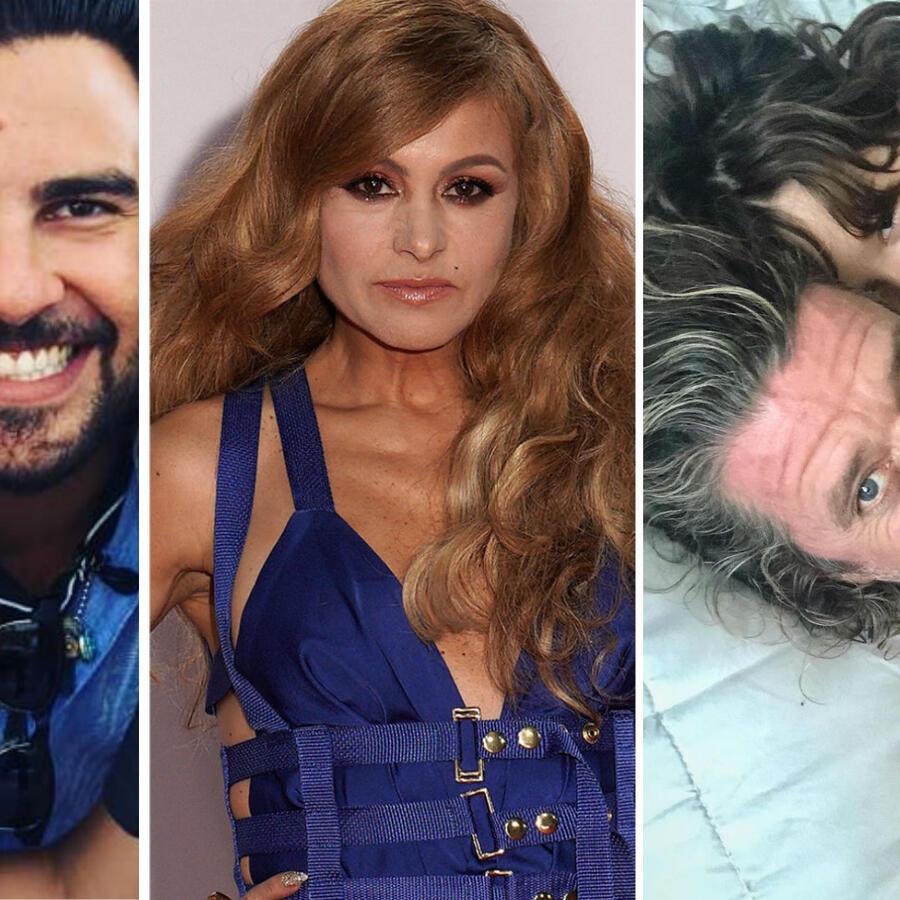 Gerardo Bazúa, Paulina Rubio y Nicolás Vallejo Nagera