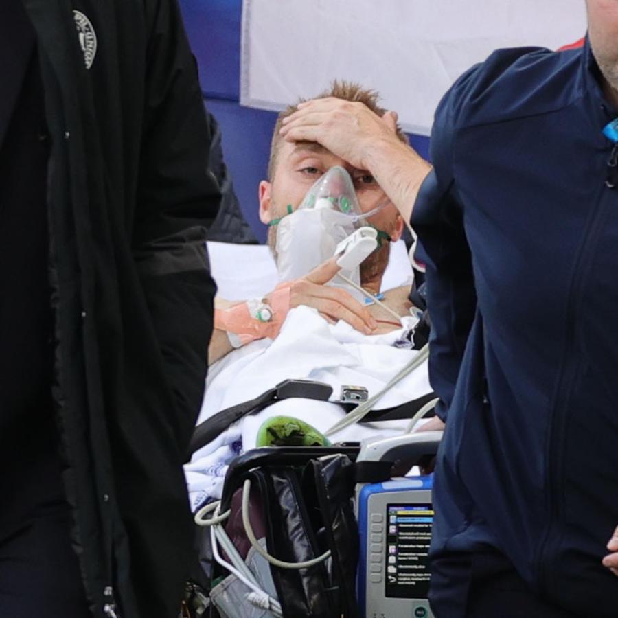 El futbolista danés Christian Eriksen.