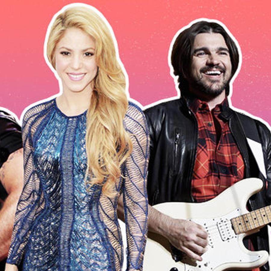 Ricky Martin, Shakira & Juanes