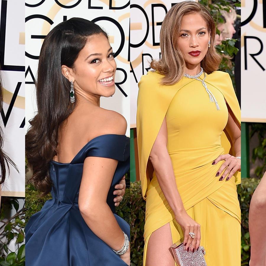 Latinas en la alfombra roja de los Golden Globes 2016