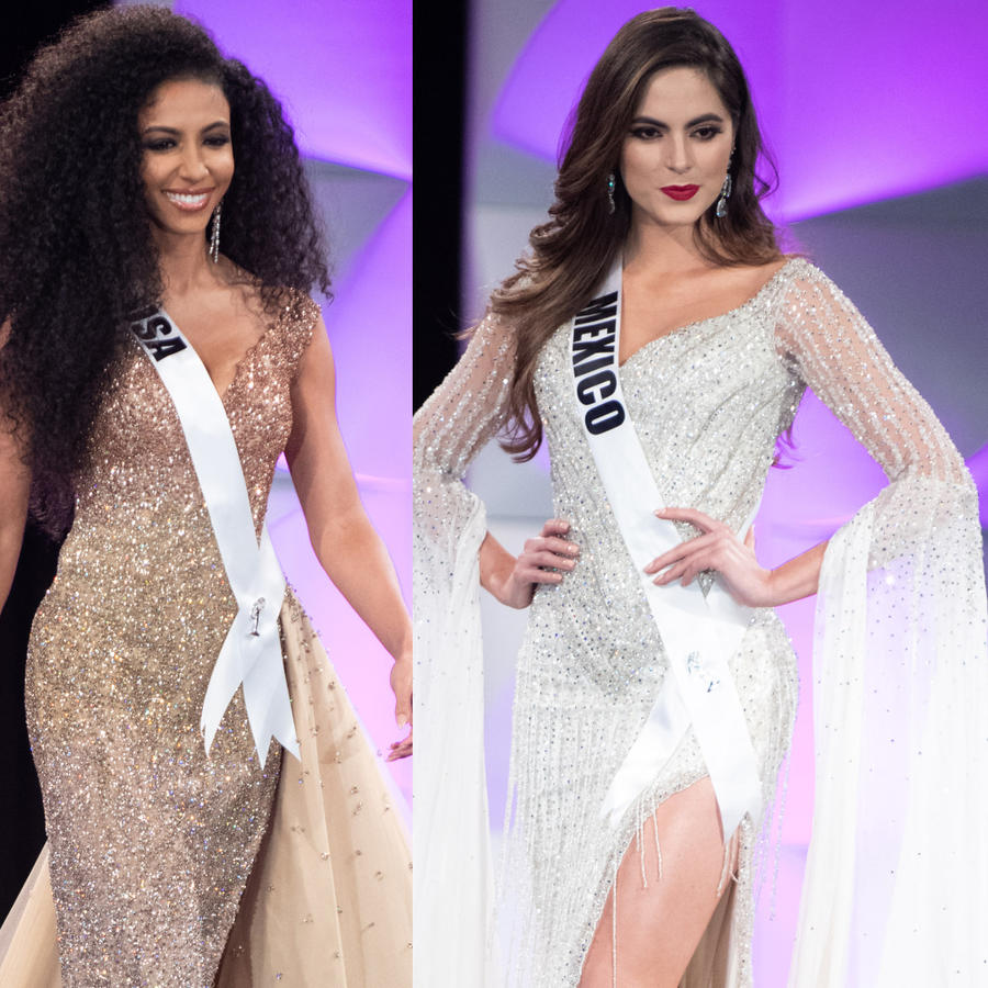 Miss Universo 2019 Vestidos de gala 20 finalistas