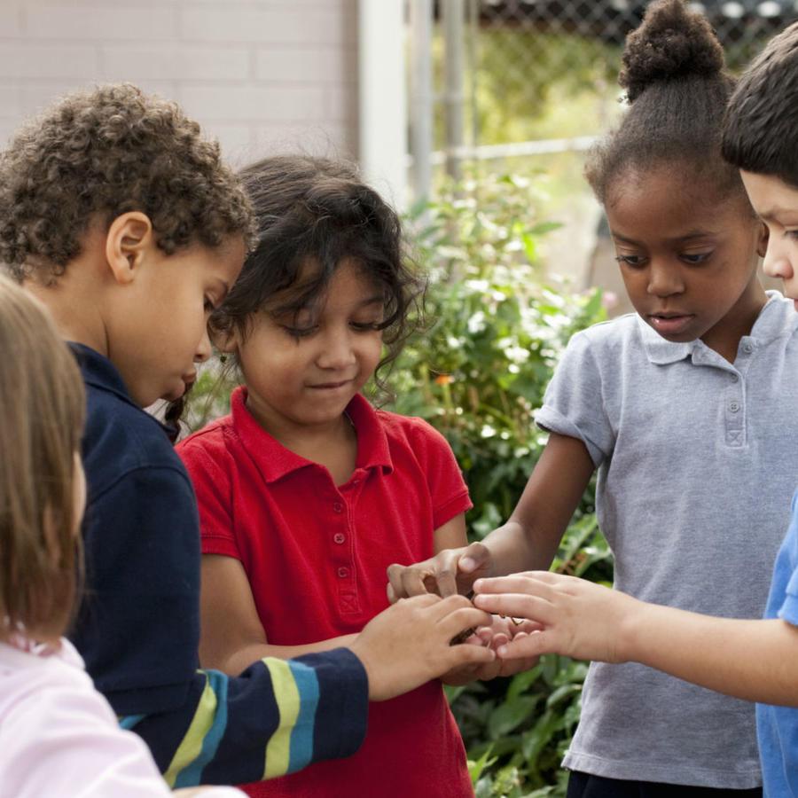 Niños de jardín de infancia