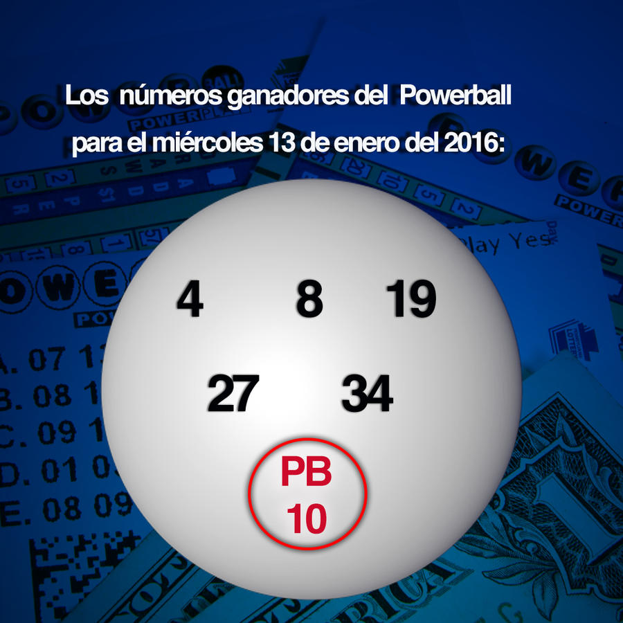 Números ganadores del Powerball