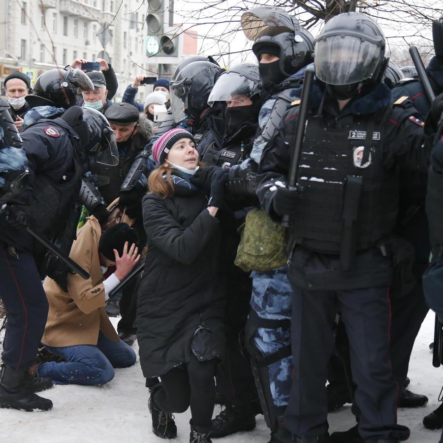 Protestas Rusia.