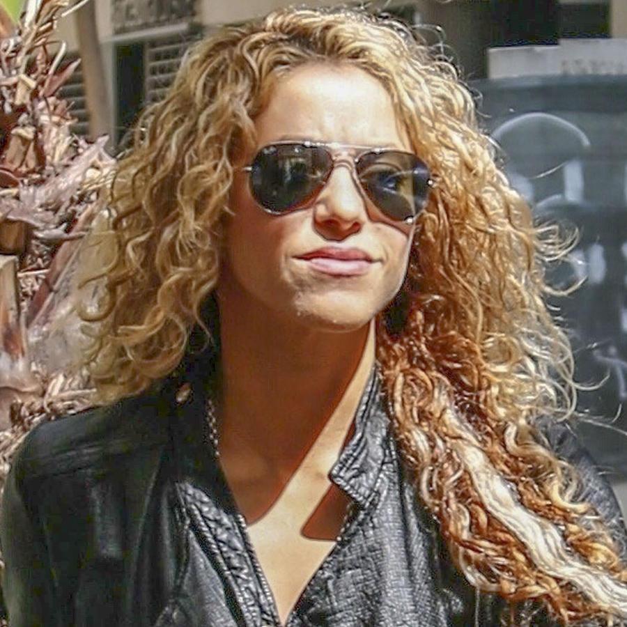 Shakira saliendo a comer en Barcelona, España, en mayo de 2019