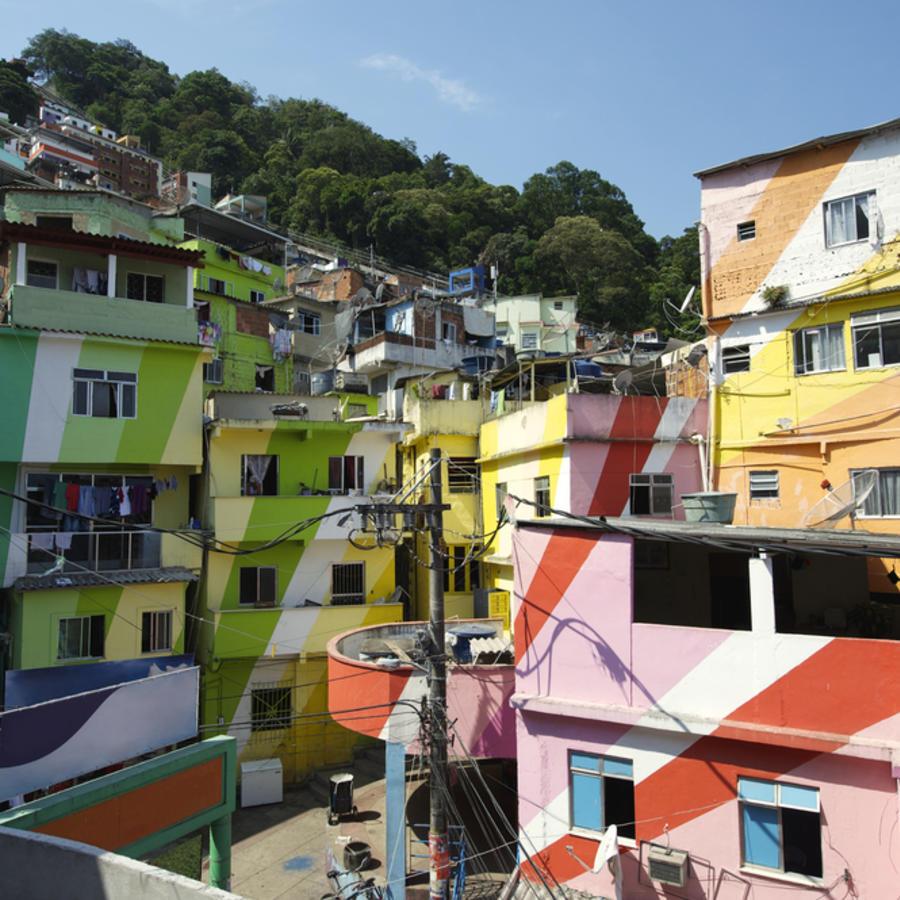 Favelas en Brasil