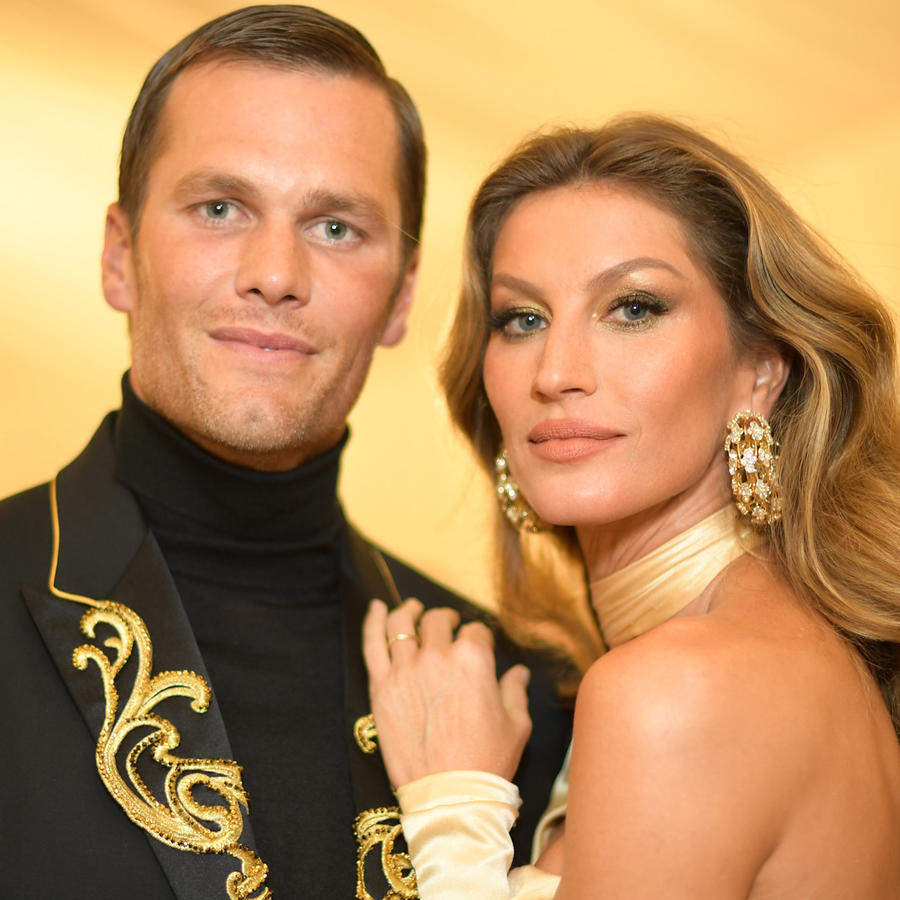 Tom Brady y Gisele Bündchen en la Heavenly Bodies: Fashion & The Catholic Imagination Costume Institute Gala en mayo de 2018