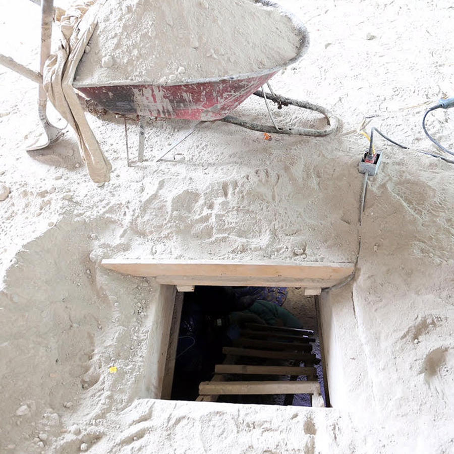 tunel del chapo guzman