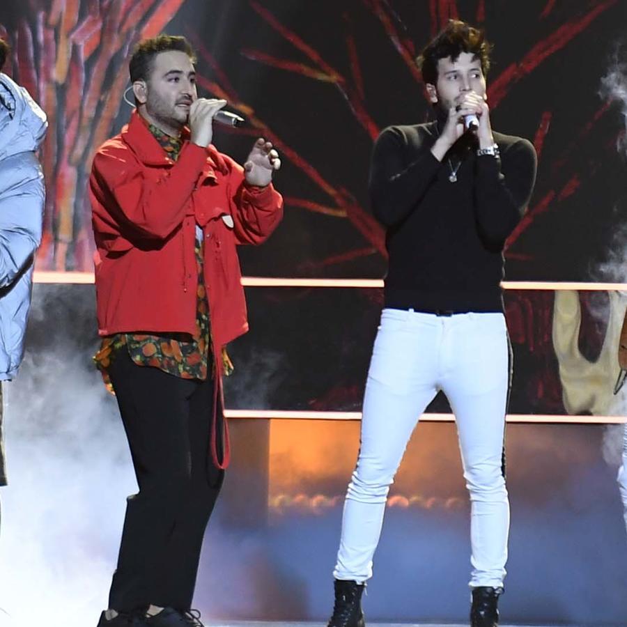 Sebastian Yatra y Reik en los Premios Billboard de la Musica Latina 2019