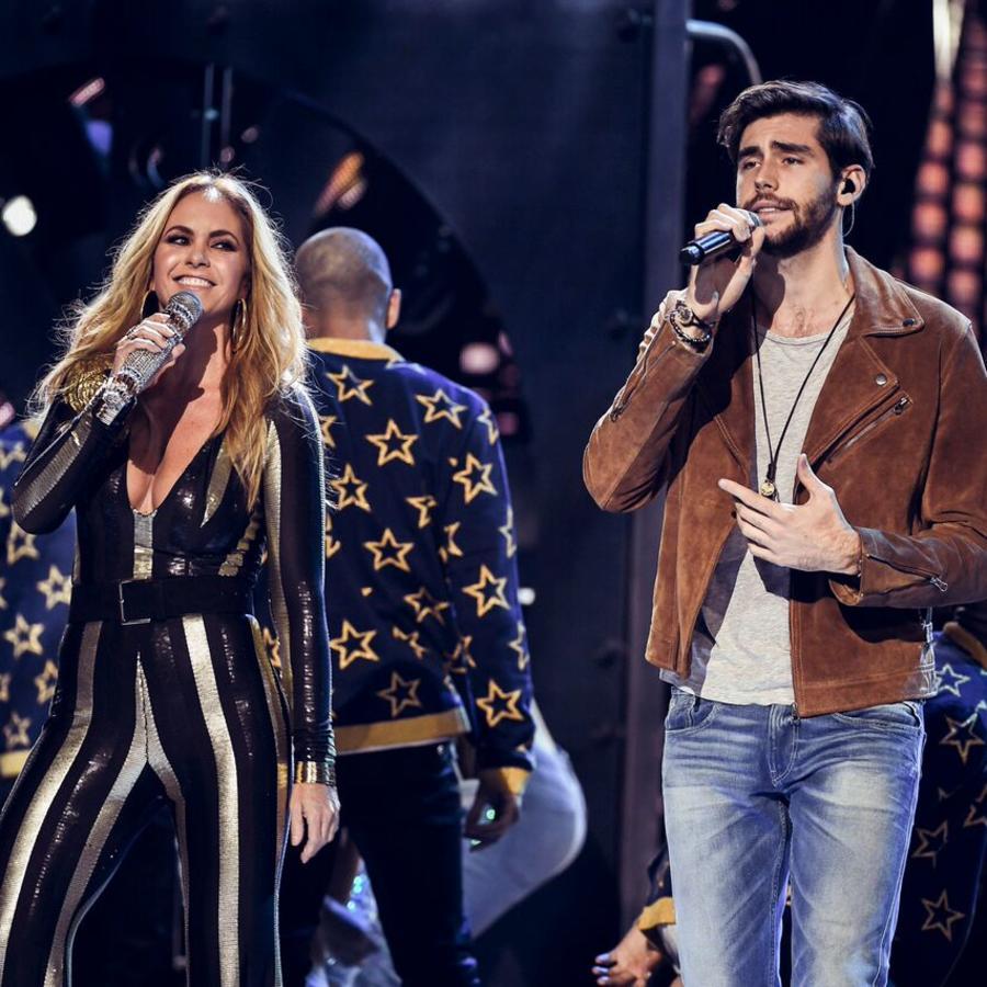 Lucero y Alvaro Soler - Latin American Music Awards 2016