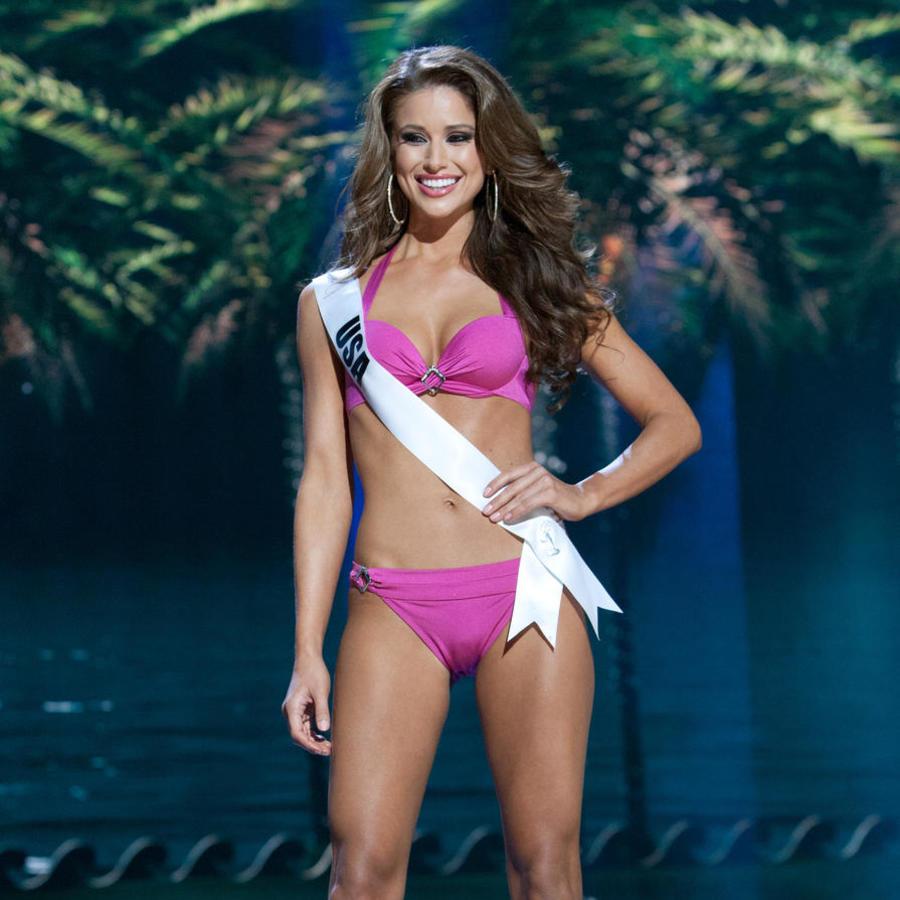 Nia Sanchez, Miss USA 2014 en traje de baño