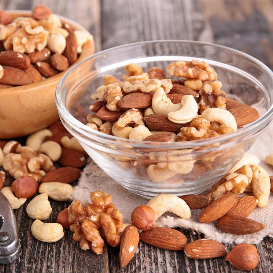 variedad de nueces