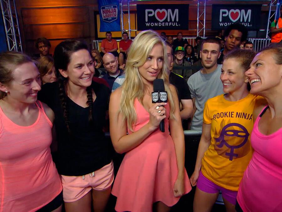 Mujeres finalistas en Philadelphia
