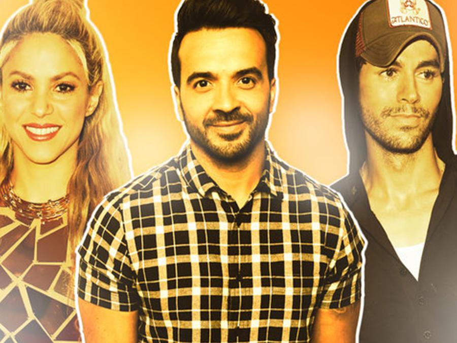 Shakira, Luis Fonsi & Enrique Iglesias