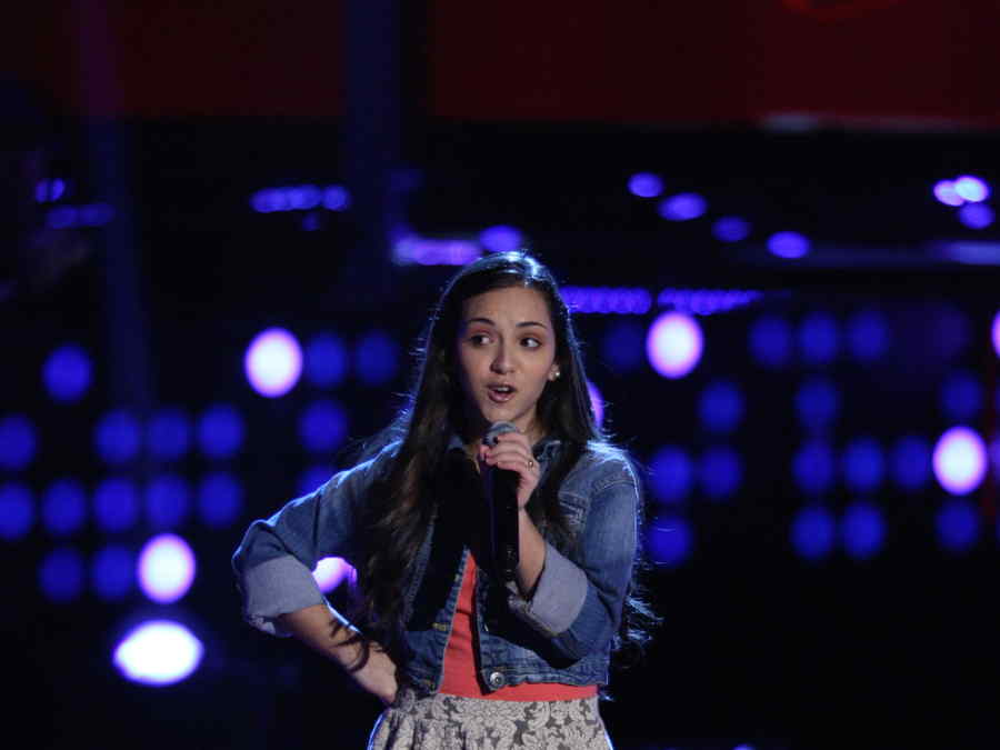 Alondra Suarez llega desde Puerto Rico a la voz kids