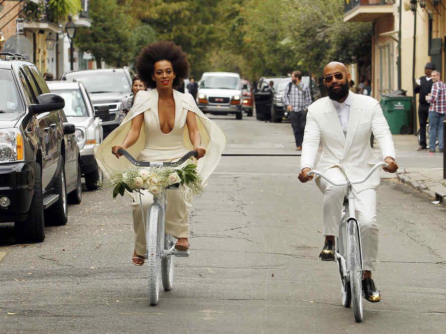 Solange Knowles y Alan Ferguson se casaron en Nueva Orleans