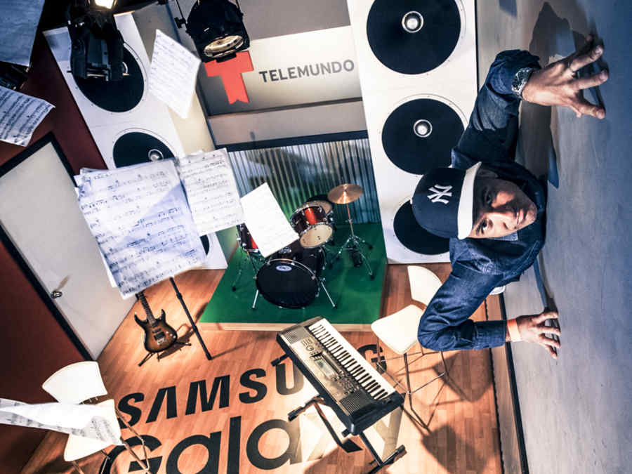 Jorge Bernal en el Gravity Room de los Premios Billboard 2015