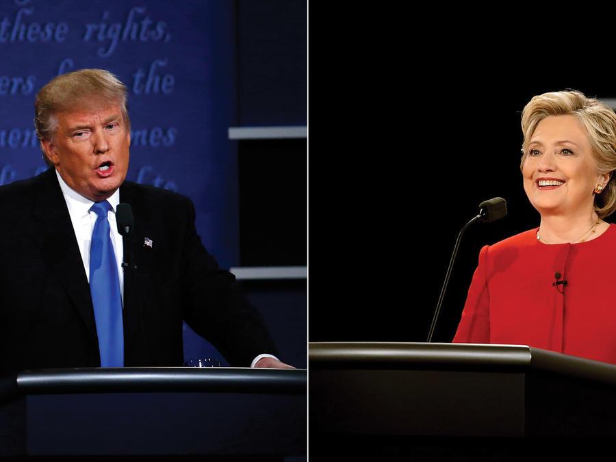 Debate presidencial Hillary Clinton vs. Donald Trump