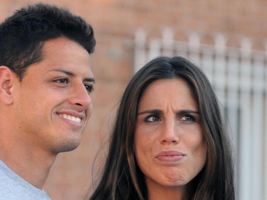Chicharito y Lucía