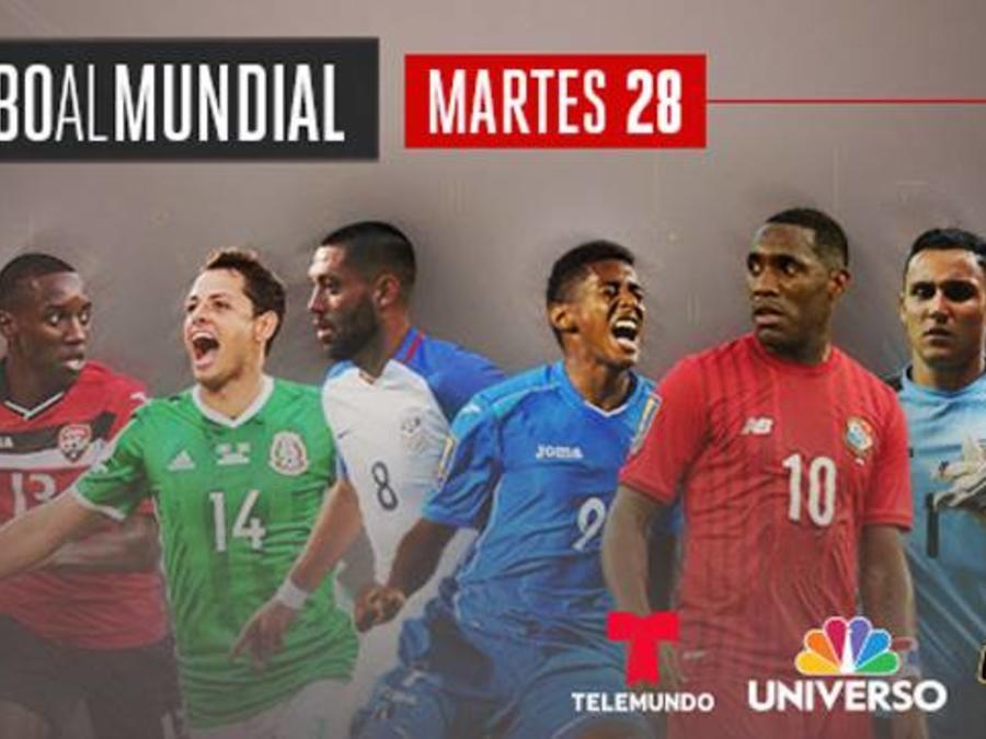 ¡Rumbo al Mundial en Telemundo y Universo!