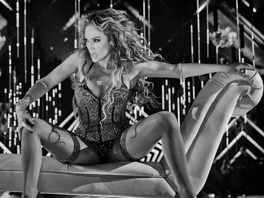 Jennifer Lopez Performs at Pre-Super Bowl Show 2018