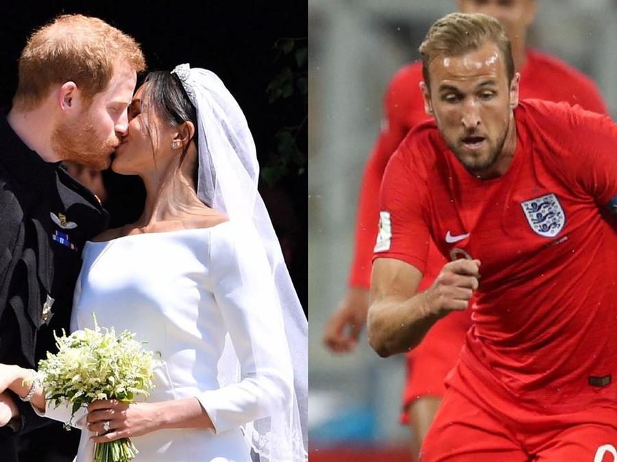 Boda real vs Inglaterra